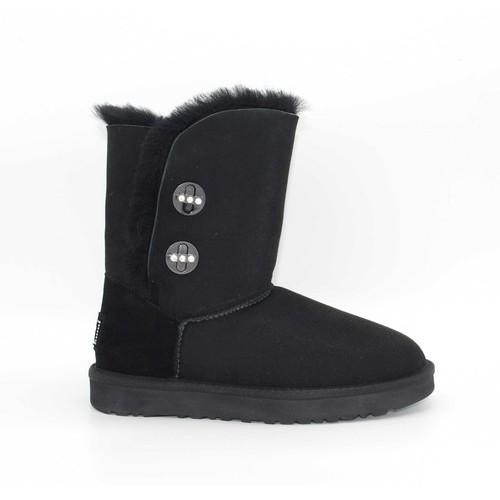 Купить UGG Bailey Button Turnlock Bling Black  в Украине