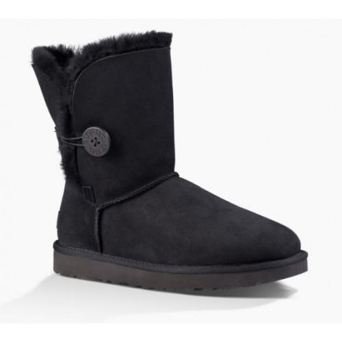 Детские угги UGG Baby Bailey Button Black II