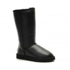 Купить UGG Classic Tall All Leather Black II в Украине