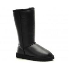 Купить UGG Classic Tall All Leather Black II в Украине