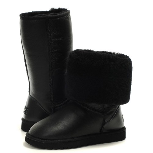 UGG Classic Tall All Leather Black II