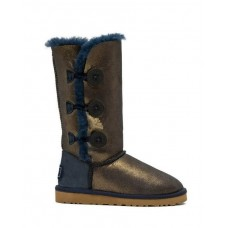 Купить UGG Bailey Button Triplet II NAVY/GOLD в Украине