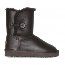 Купить UGG Bailey Button Leather Brown II в Украине
