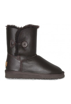 Купить UGG Bailey Button Leather Brown II В Украине