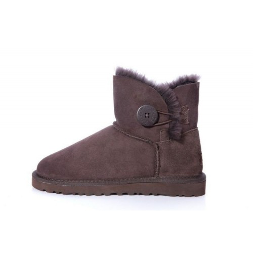 Купить UGG Bailey Button Mini Brown II в Украине