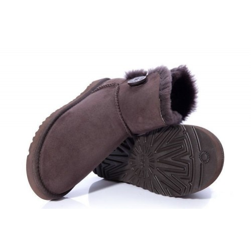 UGG Bailey Button Mini Brown II