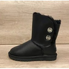 Купить UGG Bailey Button Turnlock Bling Leather Black в Украине