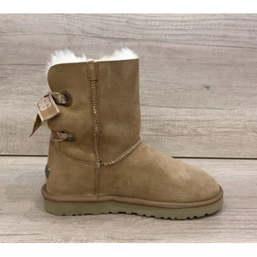 Купить UGG Bailey Bow Customizable Chestnut в Украине