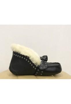 Мокасины UGG Australia Alena Leather Black