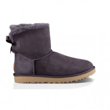 UGG BAILEY BOW Gray-2