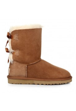 Купить UGG Bailey Bow Chestnut В Украине