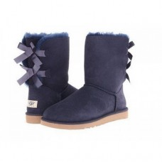 UGG Bailey Bow Blue