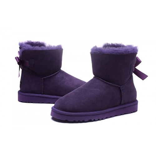 Купить UGG Mini Bailey Bow Purple в Украине