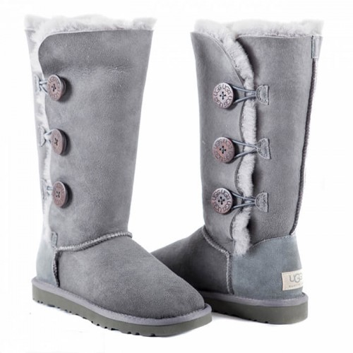 Купить UGG Bailey Button Triplet Grey в Украине