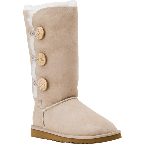 Купить UGG Bailey Button Triplet Sand в Украине
