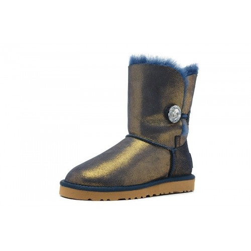 UGG Bailey Button Blink Navy-Gold II