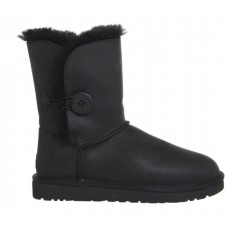 Купить UGG Bailey Button All Leather Black II в Украине