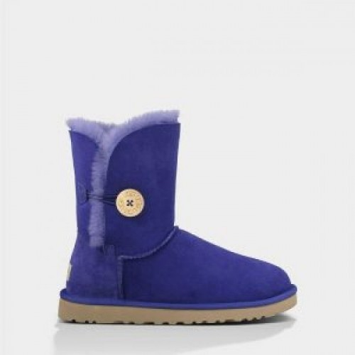 Купить UGG Bailey Button Light Blue в Украине