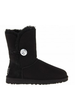 UGG Bailey Button Bling Black II