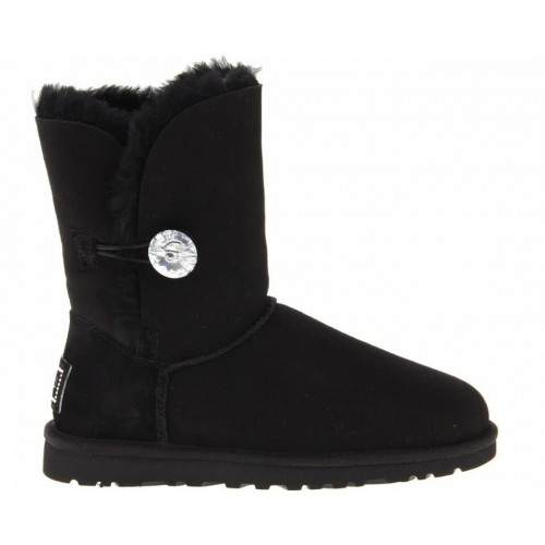 Купить UGG Bailey Button Bling Black II в Украине