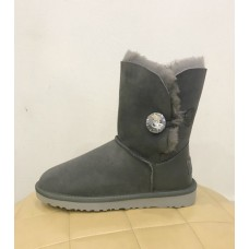 Купить UGG Bailey Button Bling Swarovski Grey в Украине