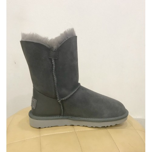 UGG Bailey Button Bling Swarovski Grey