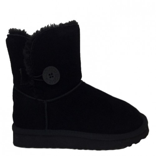 Купить UGG Mid Bailey Button Black в Украине