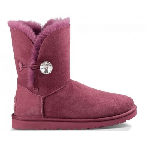 Купить UGG Bailey Button Bling Bordo II в Украине