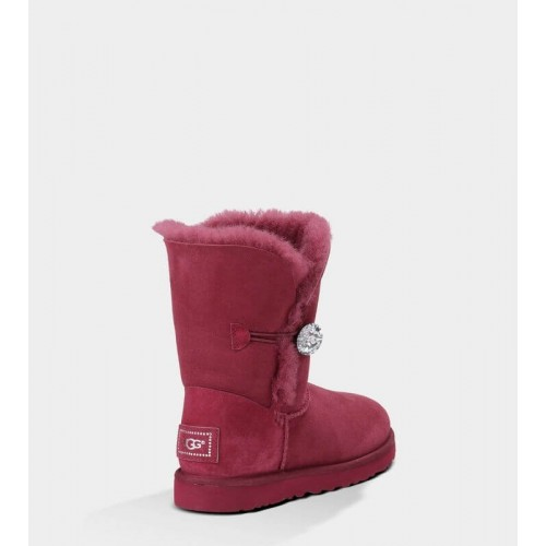 UGG Bailey Button Bling Bordo II