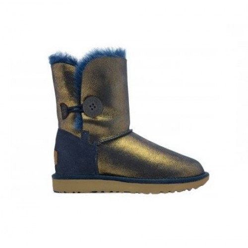 Купить UGG Bailey Button Navy-Gold II в Украине