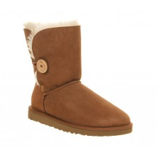 Купить UGG Bailey Button Chestnut в Украине