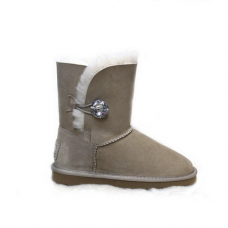 UGG Bailey Button Bling Sand