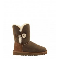 Купить UGG Bailey Button Bomber Chocolate в Украине
