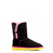 Купить UGG Bailey Button Noir Rose Jaune в Украине