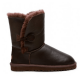 Купить UGG Bailey Button Leather Chocolate в Украине