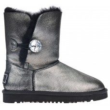 UGG Bailey Button I DO Metallic black