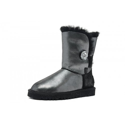 UGG Bailey Button I DO Black II