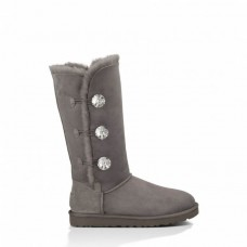 Купить UGG Bailey Button Triplet Bling Grey II в Украине
