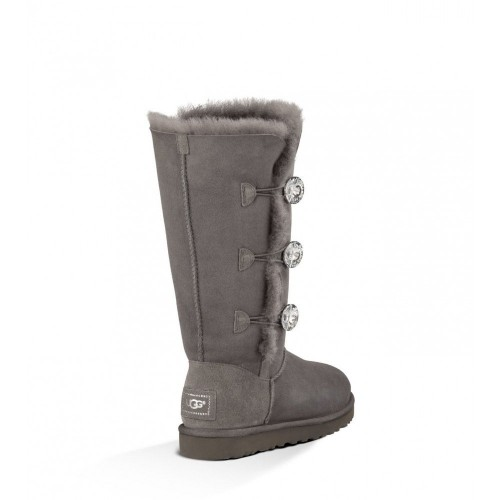 UGG Bailey Button Triplet Bling Grey II