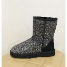 Купить UGG Classic Short Star Dust Silver в Украине