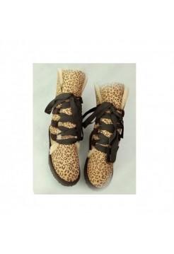 UGG Classic Short на шнуровке  тигровые