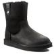 Купить UGG Classic Short Sequoia Leather Black в Украине