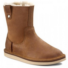 UGG Classic Short Sequoia Leather Chestnut