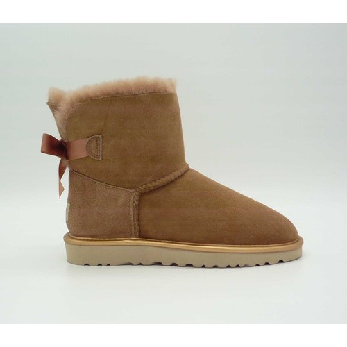 Купить UGG Mini Bailey Bow II Metallic Driftwood в Украине