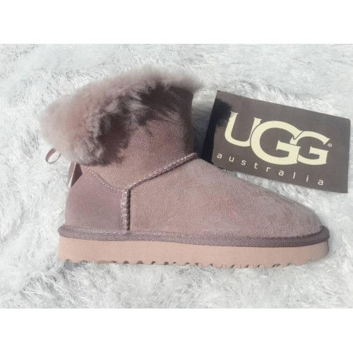 UGG Mini Bailey Bow Розовые