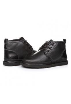 Купить UGG Neumel Leather Black В Украине
