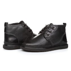 Купить UGG Neumel Leather Black в Украине