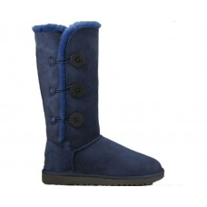 Купить UGG Bailey Button Triplet Navy II в Украине