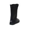 Купить Ugg Classic Tall Zip Tall Leather Black в Украине