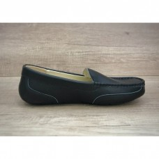 Купить UGG Ascot Summer Leather Black в Украине